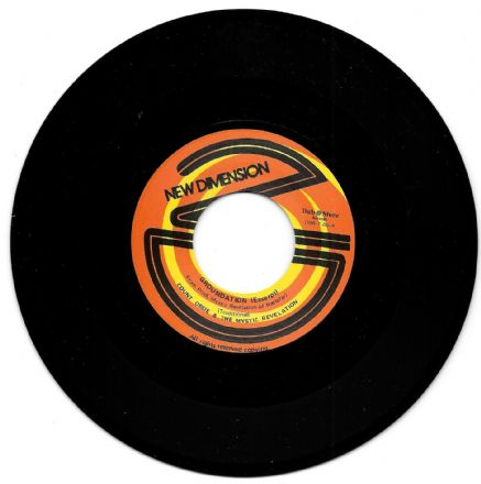 Count Ossie & The Mystic Revelation - Groundation (New Dimension / Dub Store) JPN 7""